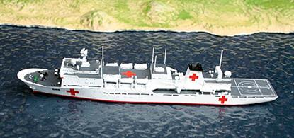 New in 2011! The Chinese hospital and humanitarian ship, a type 920 auxilliary.