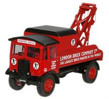 Oxford Diecast 1/76 London Brick J12 AEC Matador Wrecker 76AEC004