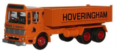 Oxford Diecast 1/76 Hoveringham AEC Ergomatic 6 Wheel Tipper 76TIP001Hoveringham AEC Ergomatic 6 Wheel Tipper.