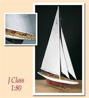 The Rainbow was designed by Starling Burgess, in order to defend the colours of the United States. The pilot was Mr. Harols S. Vanderbilt, who expressly wanted this yacht to challenge the strong contender Endeavour.Scale 1:80, Length: 480mm, Height: 700mm.