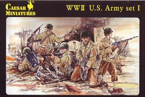 Caesar Miniatures 054 1/72 Scale US Army Figures WW2