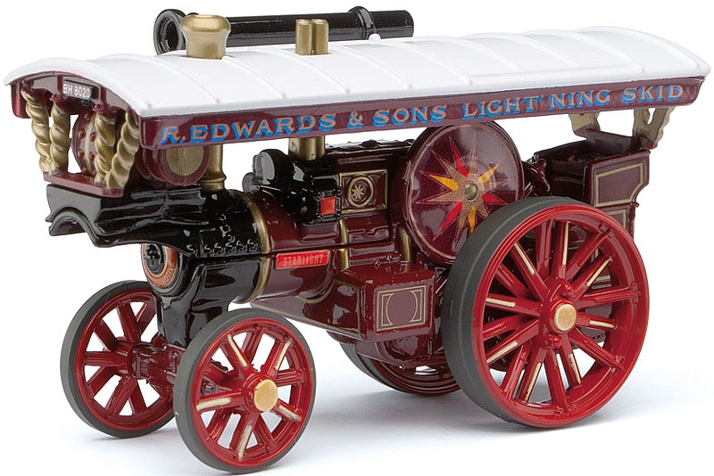 The Corgi Steam Rally Collection is a range of detailed die-cast Road Locomotives representing some of the greatest Showmans Engines that parade across today's Steam Rally scene.