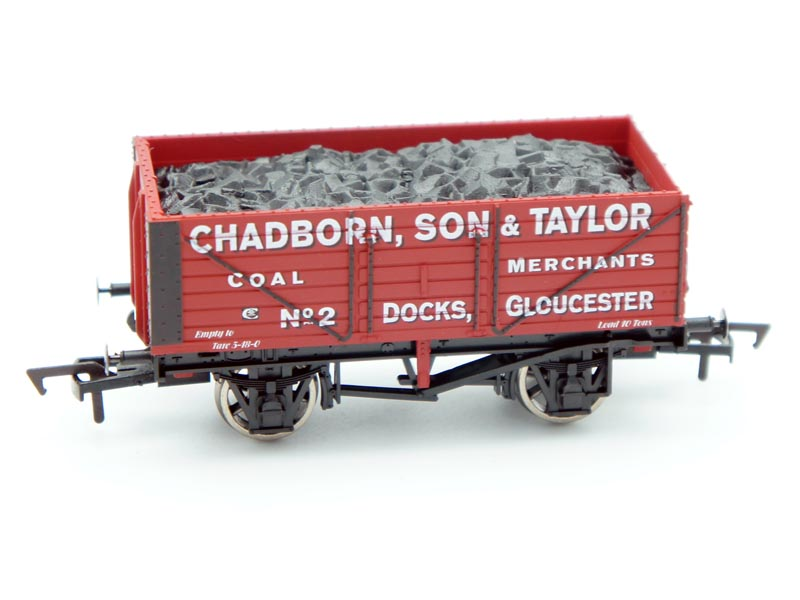 Dapol Chadborn, Son & Taylor, Gloucester Docks 7 Plank Open Wagon 2 Antics Limited Edition OO ANT050