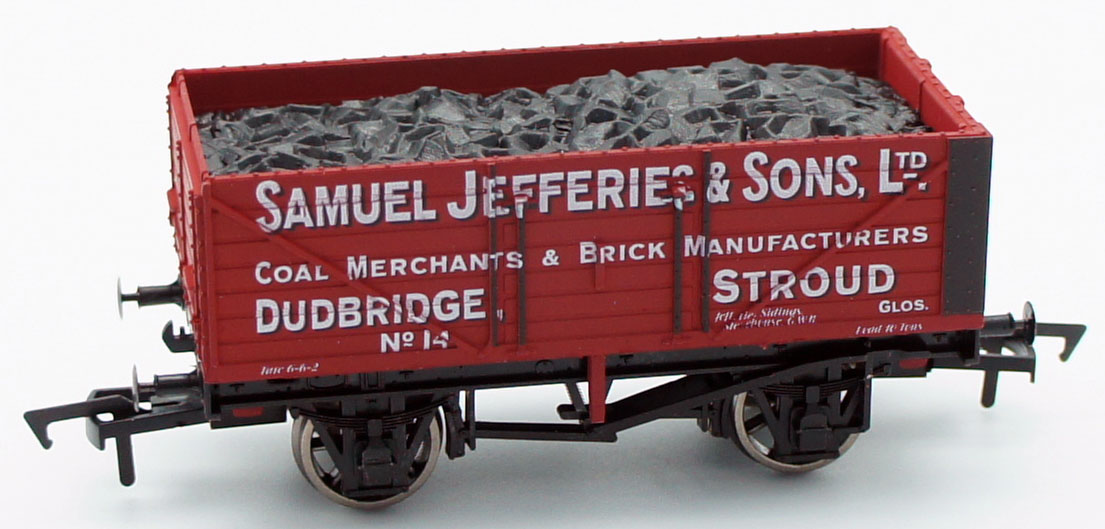 Dapol OO Samuel Jefferies & Sons Dudbridge Stroud 7 Plank Wagon Antics Limited Edition ANT049