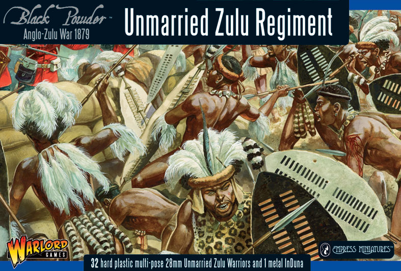 Warlord Unmarried Zulu Regiment 28mm WGZ-3