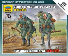 Zvezda 1/72 German Medical Personnel 1941-43 6143