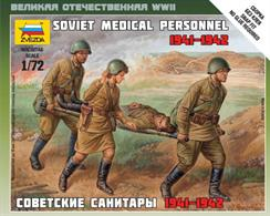 Zvezda 1/72 Soviet Medical Personnel 1941-42 6152