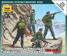 Zvezda 1/72 German Gebirgsjager Mountain Troops 6154