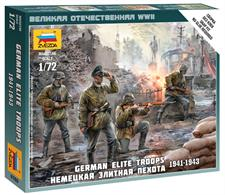 Zvezda 1/72 German Elite Troops 1939-43 6180