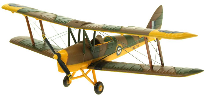 Aviation 1/72 DH86 Tiger Moth RAF Trainer XL714  AV7221002