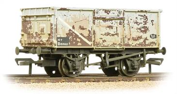 Over 200,000 of these wagons were built to replace wooden wagons used for coal and mineral traffic.Eras 4-5
