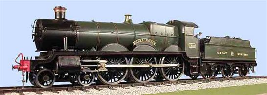 Slaters Plastikard 7L015 0 Gauge GWR 4-6-0 Saint Class Curved Frame Locomotive & 3500 Tender Etched Brass Kit This kit include wheels and Spur Drive Gearbox and Motor 7L001