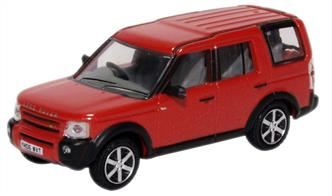 Land Rover Discovery 3 Rimmi Red Metallic 76LRD008