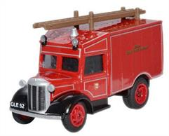 Oxford Diecast 1/76 Essex Fire Brigade Austin ATV Fire Engine 76ATV005