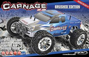 The New FTX Carnage 2, Just one of the best Radio Controlled Trucks out there! Antics Recommended