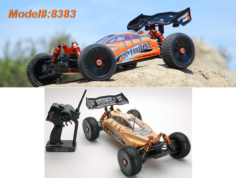 DHK 1/8 Optimus 4WD EP Buggy Brushless ARTR DHK8383<br>Nitro performance without the mess and noise, that's what the Optimus is all about! What's more it's just about ready to run out of the box.<br>