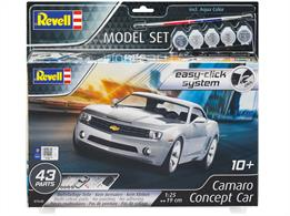 Revell 67648 2006 Camaro Concept Car Easy Click Kit