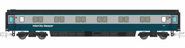 A new detailed model of the BR mk3 sleeper coaches built in the early 1980s.This model is finished in the BR blue and grey livery from the period when a network of overnight sleeper services ran from London North to Scotland, West to Cornwall and on the cross-country NE-SW route between the South West and Scotland.Release expected Autumn 2020