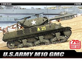 Academy 13288 1/35th Normandy 1944 US M10 Tank Destroyer Kit