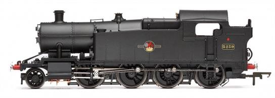 "Hornby Railways OO Gauge R3224 BR(W) 5239 ex-GWR 42xx Class 2-8-0T Heavy Goods Engine Black Late CrestGeorge Jackson Churchward was Chief Mechanical Engineer (CME) of the Great Western Railway (GWR) from 1902 – 1922 and during that time he designed class leading and innovative locomotives superior to those of other railway companies. When Charles Benjamin Collett was appointed as the new CME to the GWR in 1922 he inherited these excellent locomotive designs. With rising costs and falling revenue he decided it was more practical and economic to modify existing locomotive designs rather than create new untried ones.The Class 42XX locomotives had been developed specifically to answer the need for locomotives capable of transporting very heavy loads of coal from the Welsh coals mines to the ports in South Wales. In 1923 when additional locomotives were required, Collett decided to modify the Class 42XX locomotives.The Class underwent extensive detail alterations and changes including having the cylinders increased in size to 19"" x 30"" plus also the addition of outside steam pipes resulting in an increased tractive effort. With these modifications the locomotives were reclassified as Class 52XX and the locomotives in this class were continued to be built until 1926.In 1930 a further batch of 20 were ordered, numbers 5275 – 5294 but by this time coal exports had reduced considerably due to 'The Great Depression'. Rather than lose their skilled workforce, GWR completed the order and placed the Class into storage at Swindon, mainly because these locomotives with their heavy coal consumption precluded them from working on other routes. Three of the Class have been preserved.The locomotive in this pack No. 5239 was outshopped from the GWR Swindon Locomotive Works on the 8th August 1924 and was withdrawn from Shed 87A Neath Court Sart on the 30th April 1963. The locomotive was rescued from the Barry Scrapyard in June 1973 and can now be seen on the Dartmouth Steam Railway."