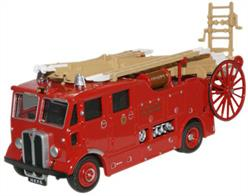 Oxford Diecast 1/76 AEC Regent Fire Engine Hong Kong 76REG006