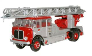 Oxford Diecast 1/76 London Fire Brigade AEC Mercury Fire Engine 76AM001