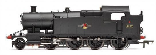 Hornby Railways R3223 OO Gauge BR(W) 4257 ex-GWR 42xx Class 2-8-0T Heavy Goods Engine Black Early BR Emblem.Dimensions - Length - 163mmDCC Ready,
