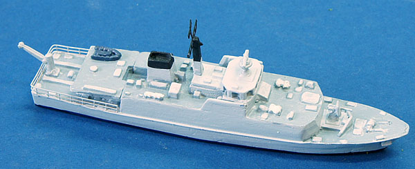 <p>The Atlantics model of the Royal Navy Sandown class minesweeper readymade and painted.</p>