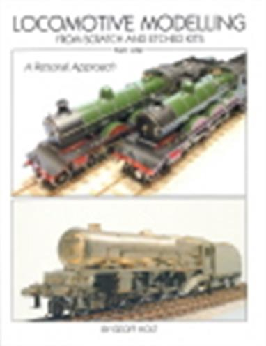 "Locomotive Modelling From Scratch and Etched Kits Part OneGeoff Holt    108 pages    Softback    2012This book, it seems to me, is both a practical guide to the business of model locomotive construction and also an interesting account of how the hobby has changed and developed since The Second World War. Geoff's own model building ""career"" started with a chance friendship with a like minded German prisoner of war and has since involved him since with many of the leading names in the hobby. Very well illustrated throughout with colour photography and numerous sketches and line drawings, the book starts with a more or less general introduction to tools, materials and techniques before embarking upon a ""signature model"", the Great Central's ""Immingham"" class 4-6-0. Two of these are to be built in 7mm scale, one from scratch and the other from a kit, and this first volume will take us as far as the rolling chassis, with part two due next year taking us to the completion of the job. Well written, informative and a novel approach to its subject, all as well produced as you would expect from Paul Karau and Wild Swan."