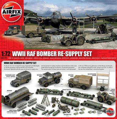 Airfix A05330 1/72nd RAF WW2 Bomber Re-Supply Set
