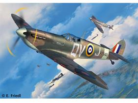 Revell 1/32 Spitfire Mk IIa RAF WW2 Fighter kit 03986Length 286mm    Number of Parts 115    Wingspan 351mmGlue and paints are required