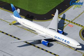 Gemini Jets GJUAL1922 1/400th United Boeing B777-300ER NEW LIVERY N2749U