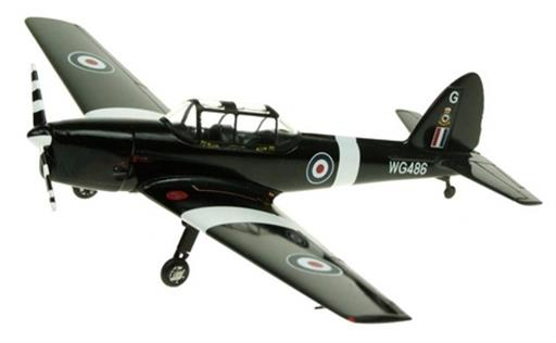Aviation AV7226003 DHC1 RAF Chipmunk Trainer Aircraft Model WP486 Battle of Britain 1/72