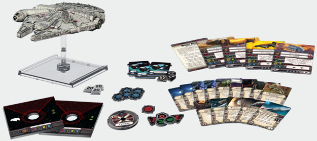 Fantasy Flight Games Millennium Falcon Expansion Pack from Star Wars X-Wing  SWX06