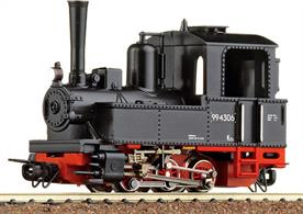 A nicely detailed model of a small German design 0-6-0 narrow gauge tank engine, a size popular with industrial users and construction contractors, with many German built engines working in the UK. One of a small number of ready to run OO9 or HOe locomotives this engine is a good way to get trains moving on a OO9 layout.