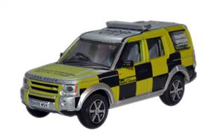 Oxford Diecast 1/76 Highways Agency Land Rover Discovery 76LRD004