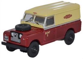 Oxford Diecast 1/76 Land Rover Series II British Rail 76LAN2001