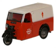 Oxford Diecast 1/76 Gas and Coke Service Tricycle Van 76TV004Gas and Coke Service Tricycle Van