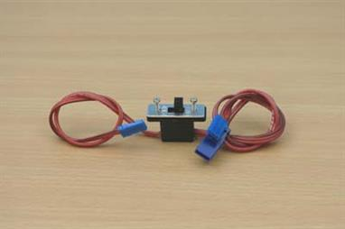 Expo Switch Harness Blue Line High Quality Servo Lead 20104Blue Line high current servo lead switch harness. Manufactured with high current wire, suitable for JR & Futaba systems.