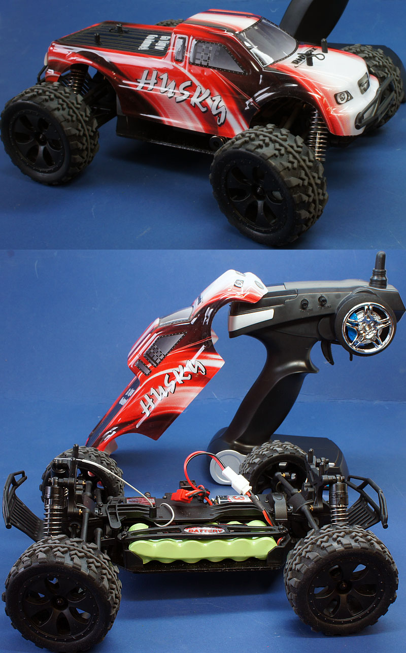 Ripmax Husky Truck Ready to Run RC Truck 1/18 RMX0020