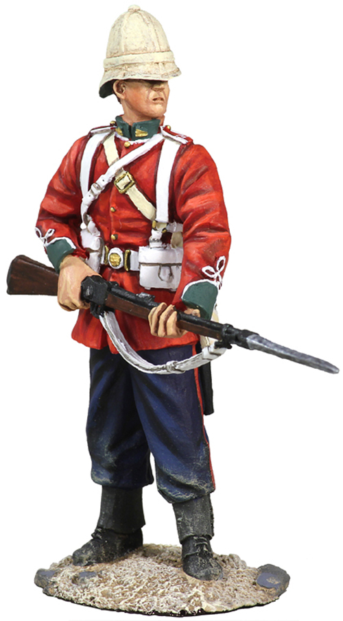 W Britain 1/32 British 24th Foot Standing At The Ready - No.2<p> The regiment first came into existence, as the 24th Regiment of Foot in 1689. It later became the South Wales Borderers.</p><p>1/30 Scale</p><p>Matt Finish</p>