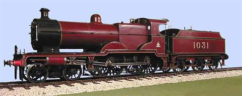 Slaters Plastikard 7L014 O Gauge MR/LMS Deeley Compound 4-4-0 & 3500 Gallon TenderKits include the correct wheels, and unless otherwise stated also include gearbox and motor.
