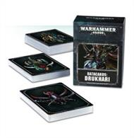 Designed to make it easier to keep track of Tactical Objectives, Power From Pain and Stratagems in games of Warhammer 40,000, this set of 77 cards – each featuring artwork on the reverse – is an indispensable tool in the arsenal of any Drukhari gamer.
