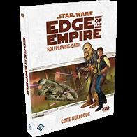 The Star Wars universe is at your fingertips with the Star Wars®: The Edge of the Empire™ Core Rulebook, the heart and soul of your Edge of the Empire campaign. The 448-page Core Rulebook includes everything players and GMs need to begin their Star Wars roleplay campaign