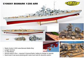 Bismarck Premium Battleship RC Almost Ready to Run