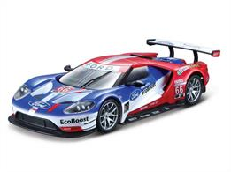 Burago B18-41158 1/32 Scale Ford GT Le Mans Race Car Model No.67