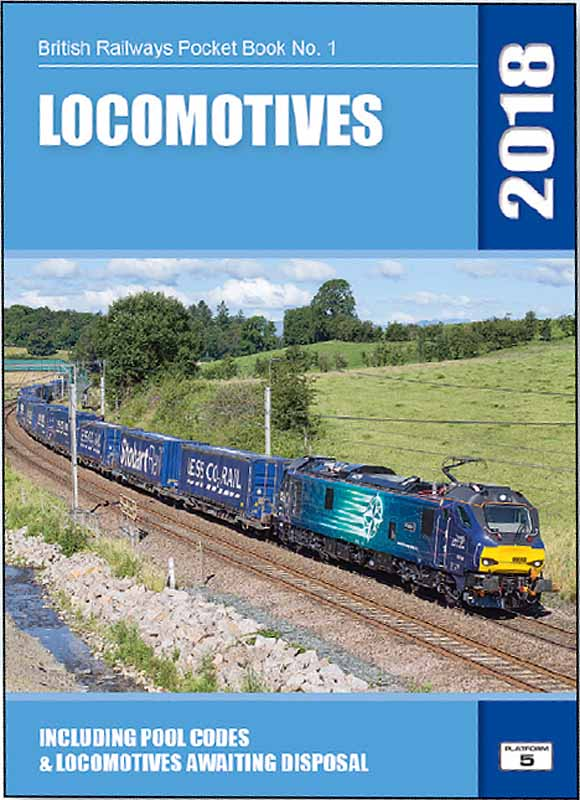 <strong>Platform 5 BRPB1 British Railways Locomotives 2018 Pocket Book BRPB1 18</strong>