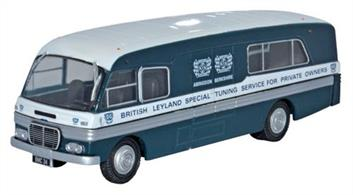 Oxford Diecast 1/76 BMC Mobile Training Unit BL Special Tuning Depart 76BMC002