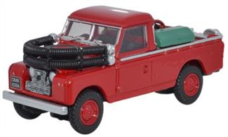 Land Rover Series II Fire Appilance Red 76LAN2004