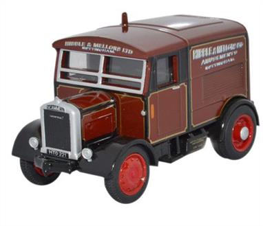 Oxford Diecast 1/76 Scammell Showtrac Hibble & Mellors LTD 76SST004Scammell Showtrac Hibble & Mellors LTD